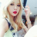 [Korea Płd] Te zdjęcia pokazują, że Hyuna jest równie piękna w delikatnym makijażu