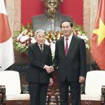 [Wietnam] Wizyta cesarza i cesarzowej Japonii