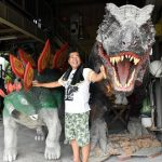 [Japonia] Farmer, który prócz pomidorów robi dinozaury