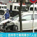 [Japonia] Kierowca wjechał w pieszych w Tokio